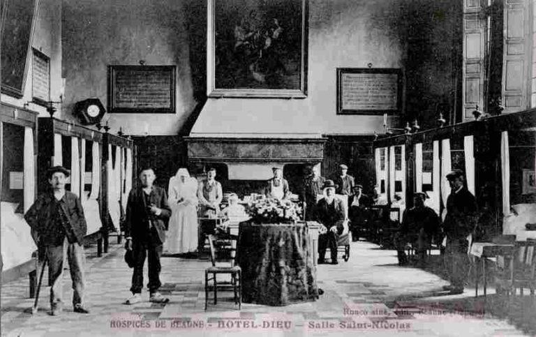 intérieur hospice